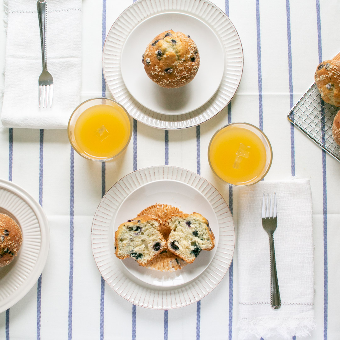 Breakfast for Two Tablescape