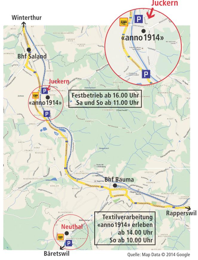 Karte anno 1914