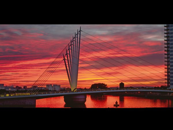 The Quays at Sunset