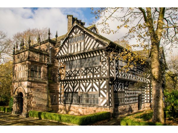 Hall in the Wood 16 century manor house, Bolton