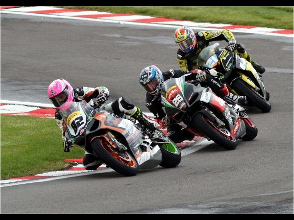 Racing for the podium places