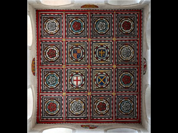 St Albans Cathedral - Ceiling Detail