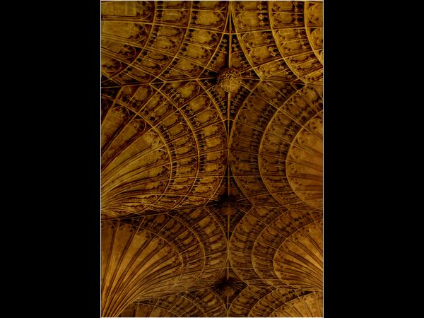 Section of ceiling, Peterborough Cathedral
