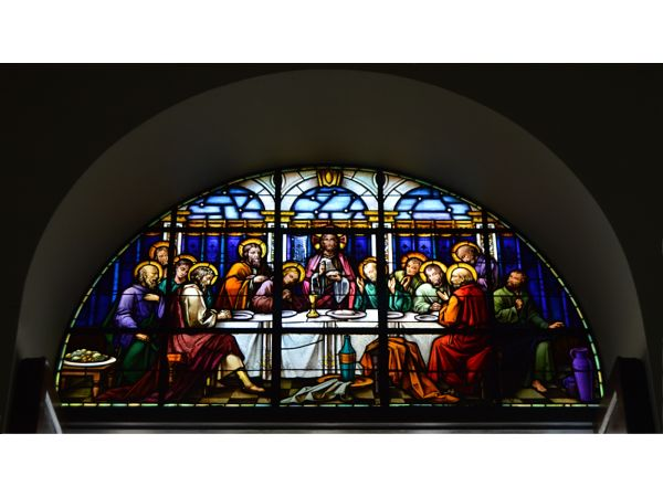 Last Supper, Cathedral, Gibraltar