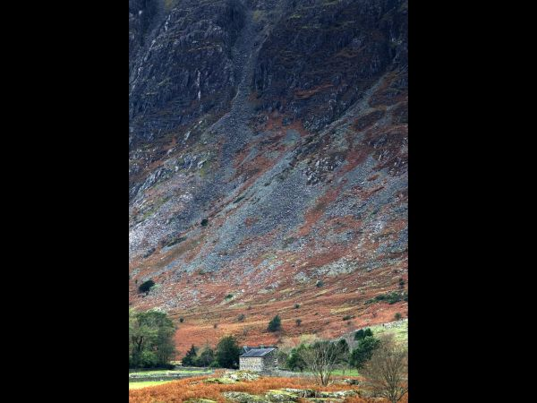 The scale of the screes