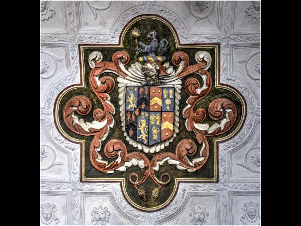 Family crest - Canons Ashby