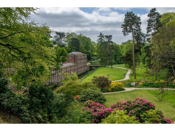 Styal mill and gardens