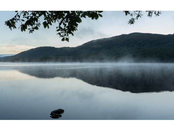 Early morning mist on Coniston