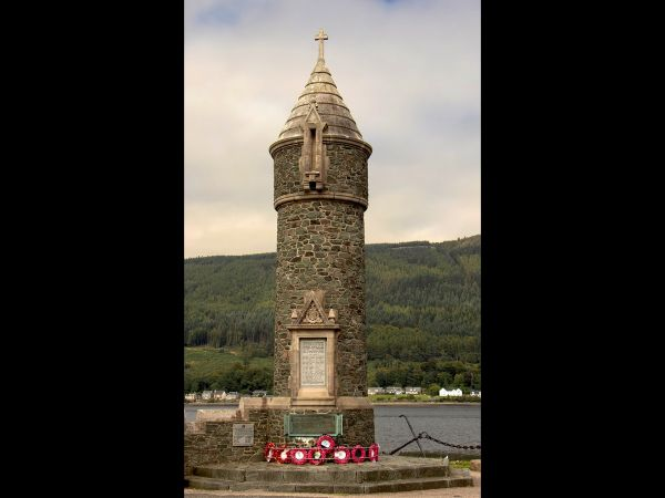 WWII Memorial at Holy Loch