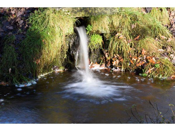 Dunham Massey Mill - leat outflow
