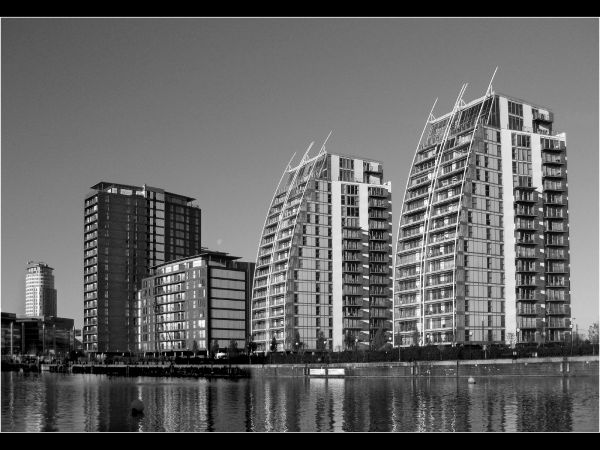 Quays waterfront