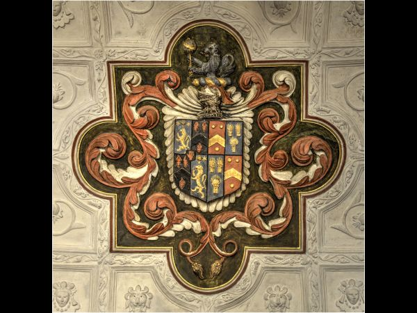 Ceiling detail Canons Ashby