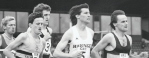 Sebastian Coe was among those competing at Birmingham in 1986. Photo: Blackheath and Bromley Harriers AC.