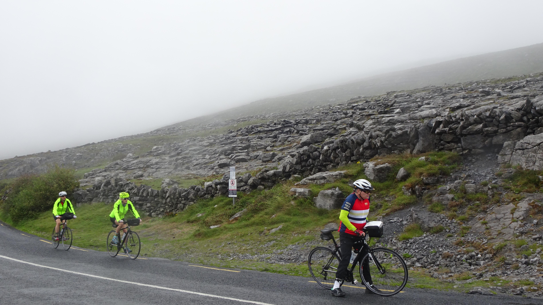 Burren cyclist