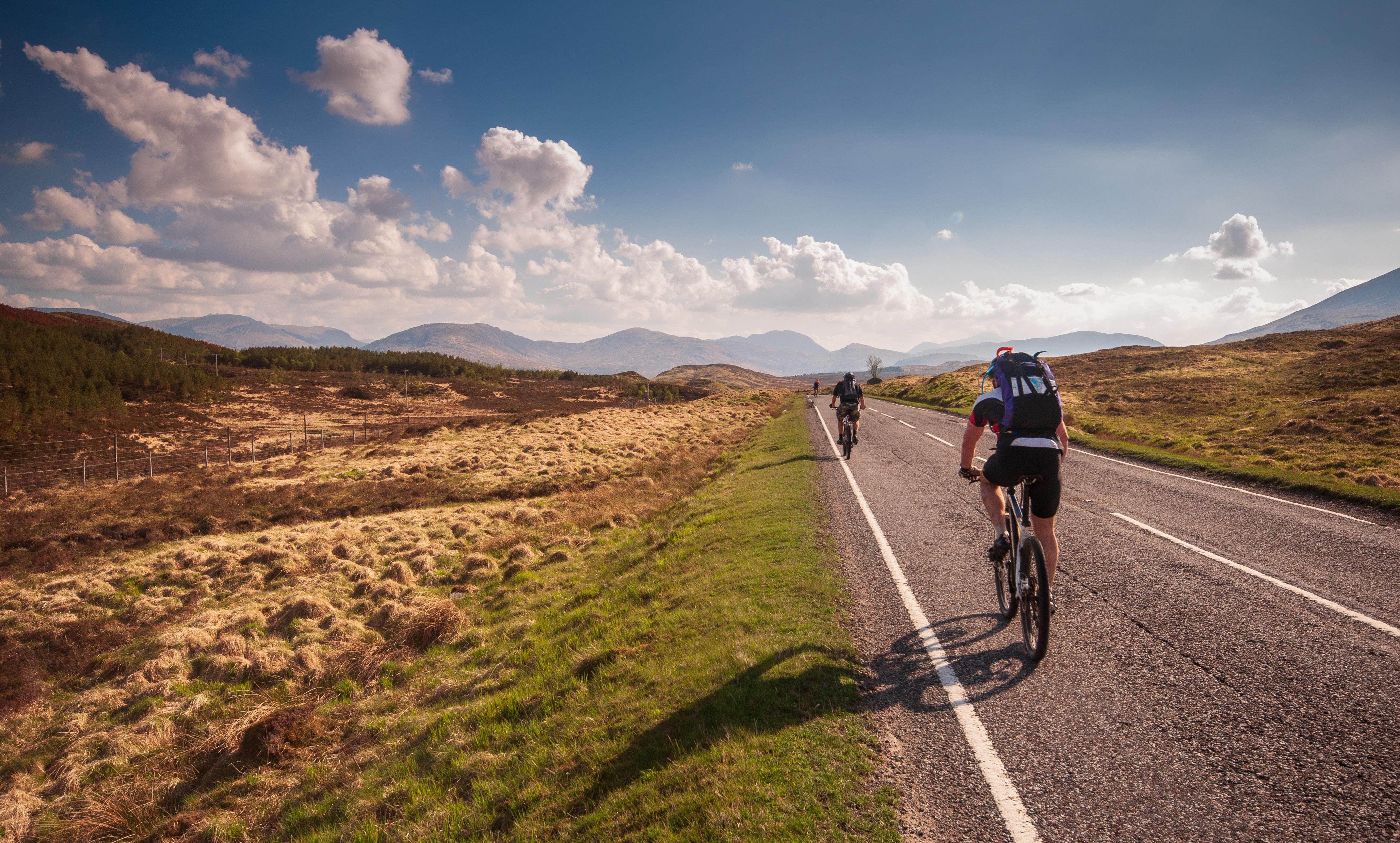 Cyclists scotland