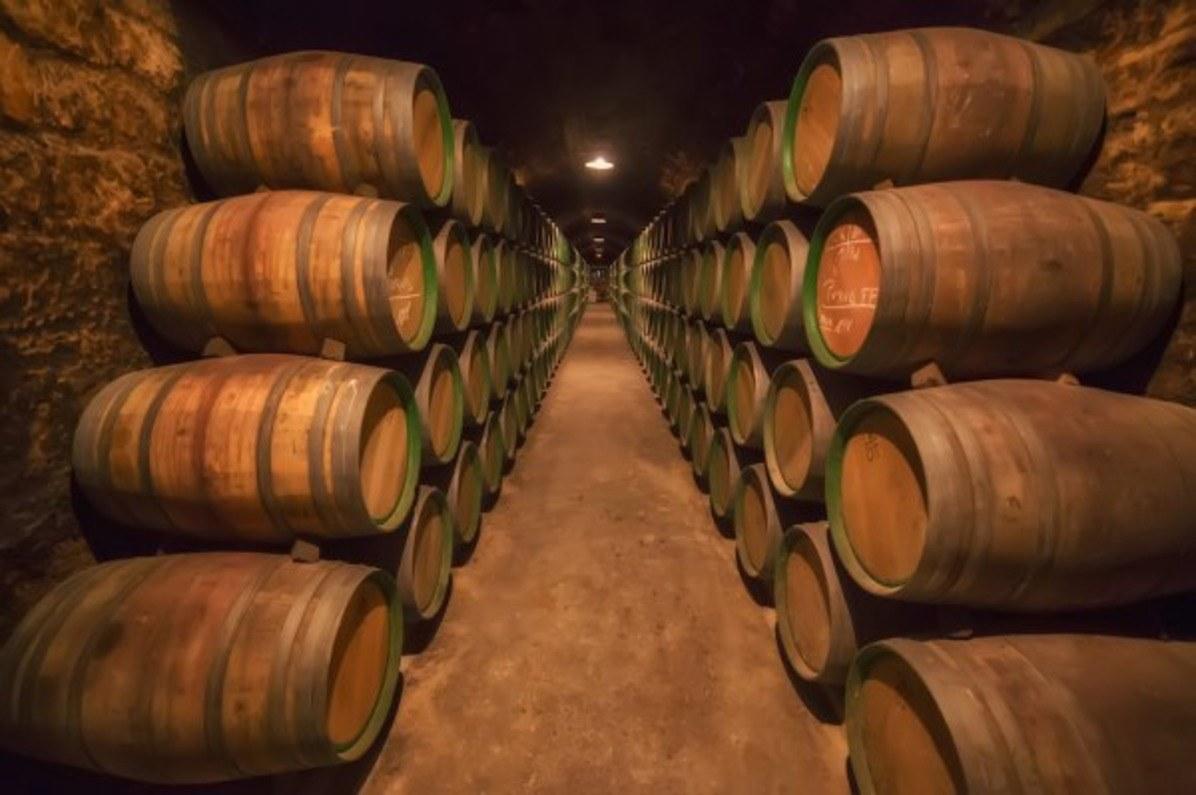 Barrels in Bushmills