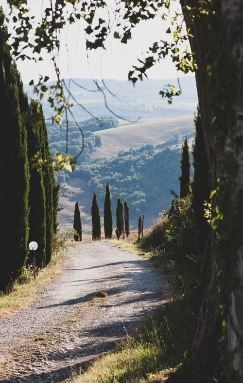 Tuscany cycling