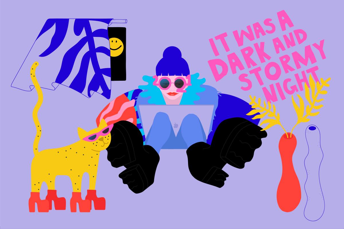 Illustration av Mari Bergström