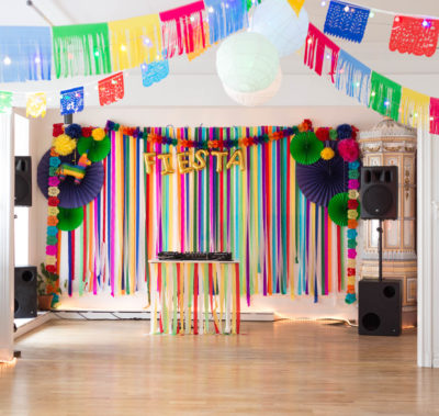 Mexican party decoration idea