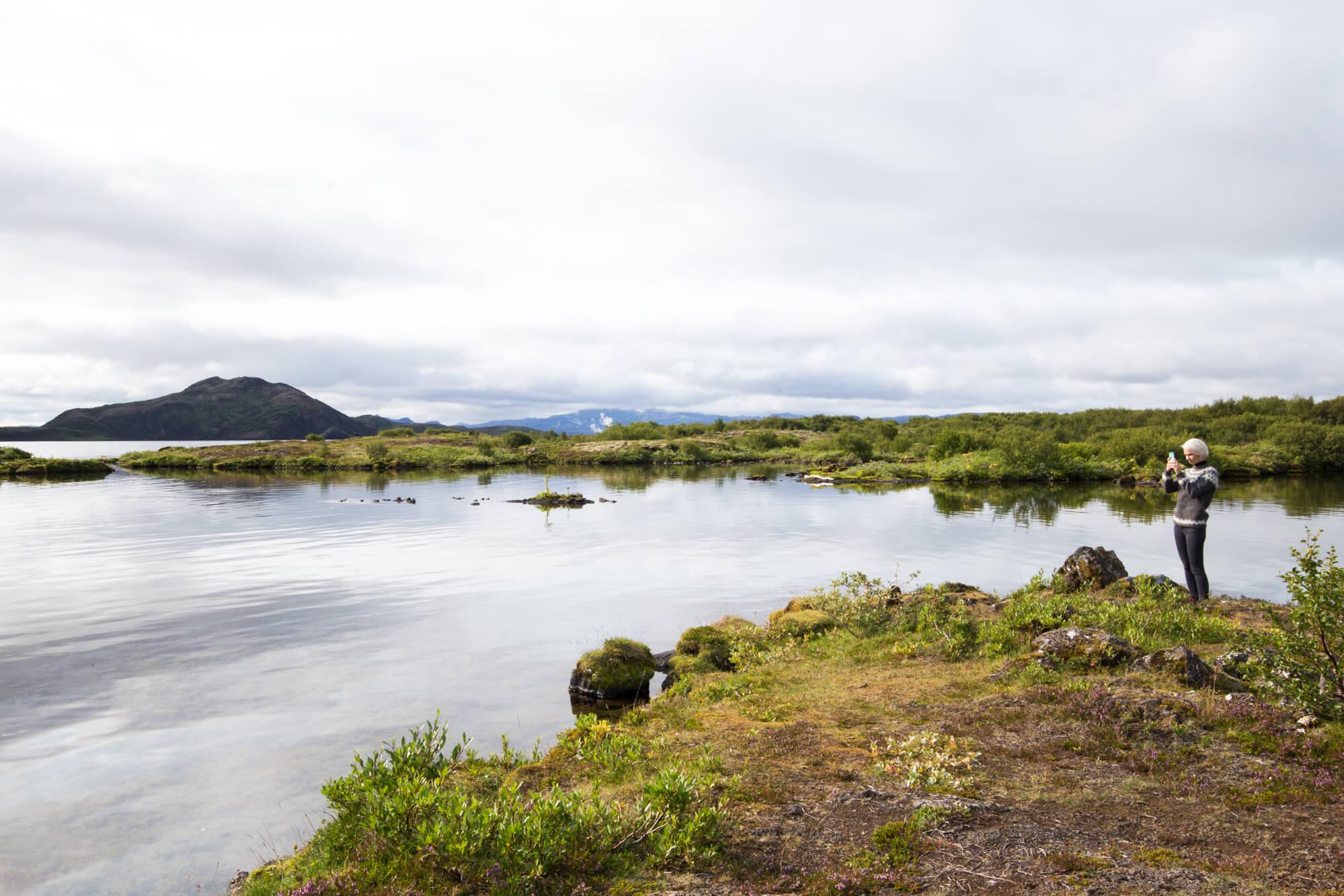 Þingvallavatn, Iceland