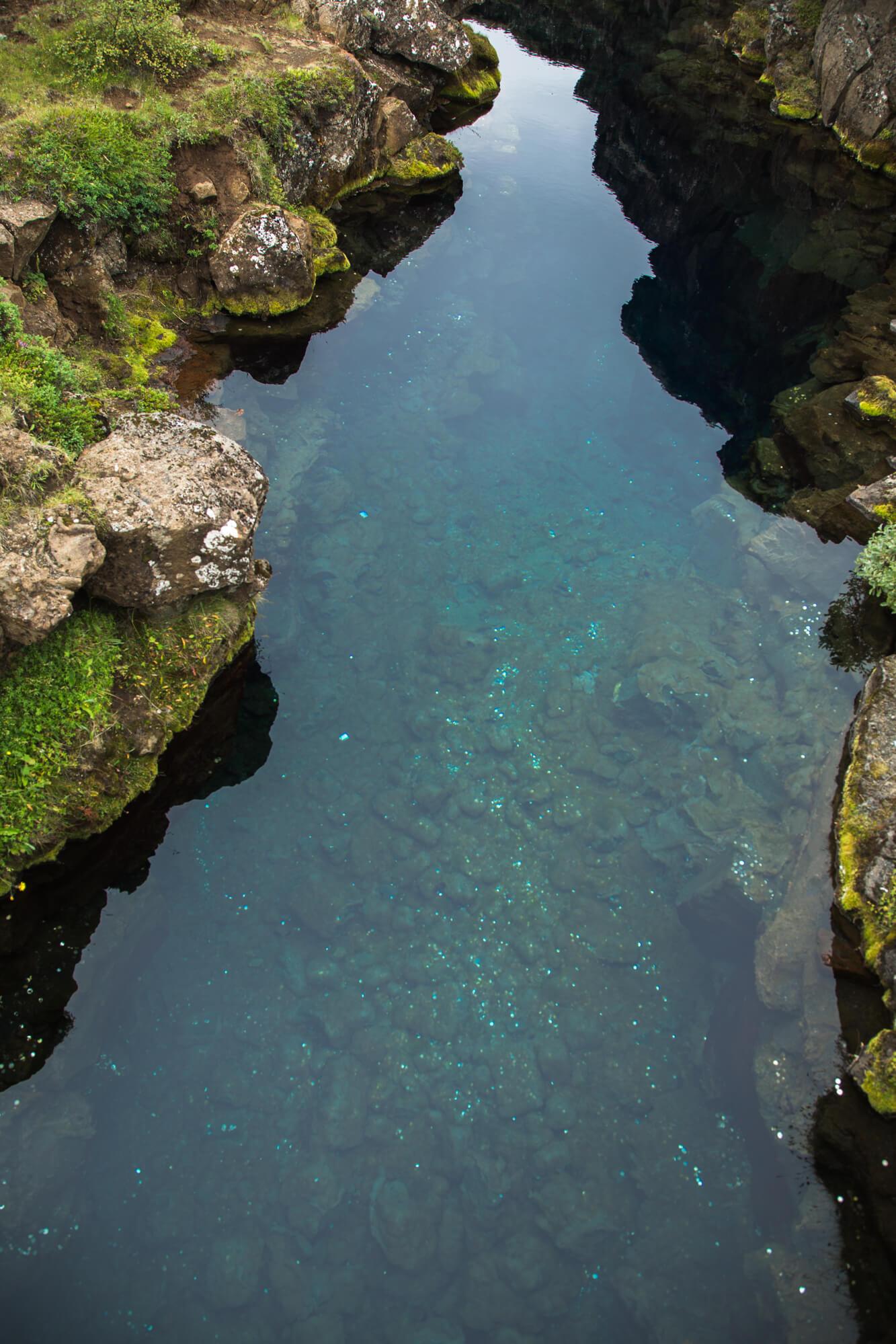 Þingvellir, peningjagjá