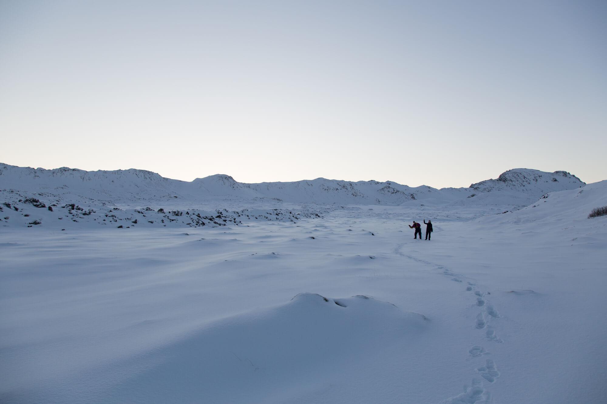 Hiking in Reykjanes