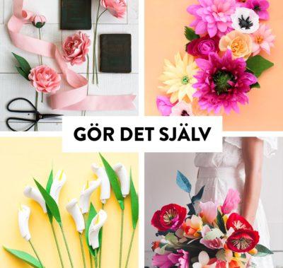 Gör det själv #96 - Alternativa blommor