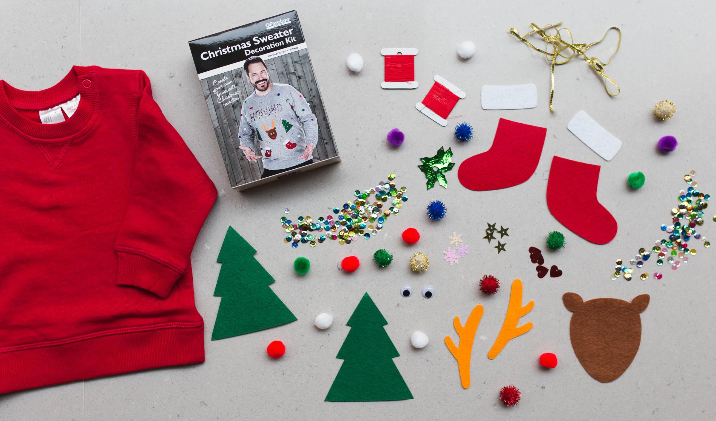 gör din egen jultröja
