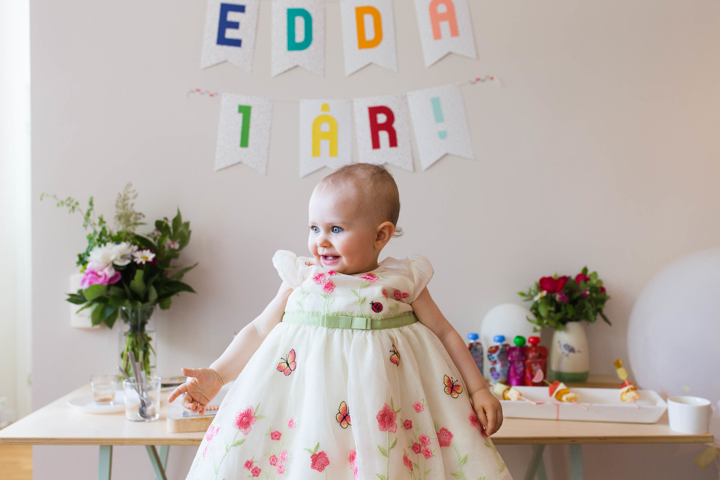 Edda 1 år