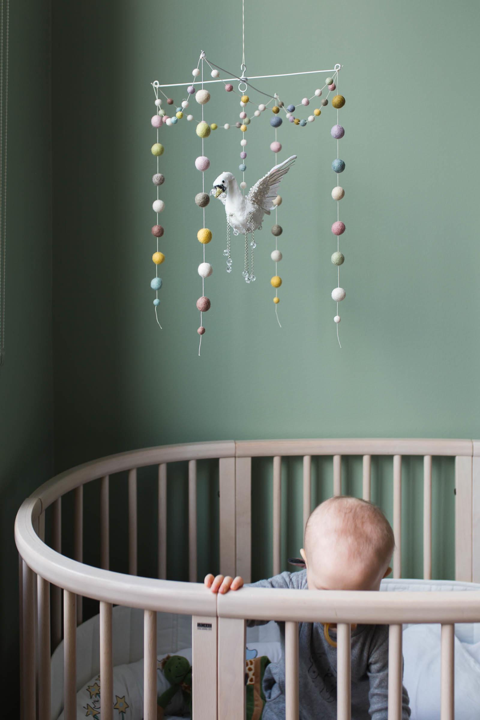 DIY Babymobil svan - Dnilva