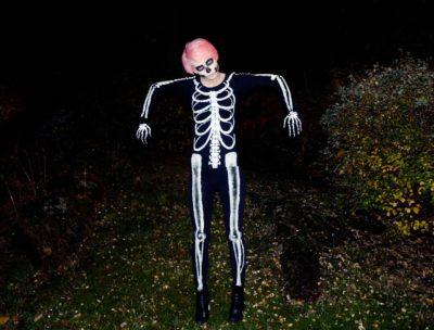 Halloween skelett - Dnilva