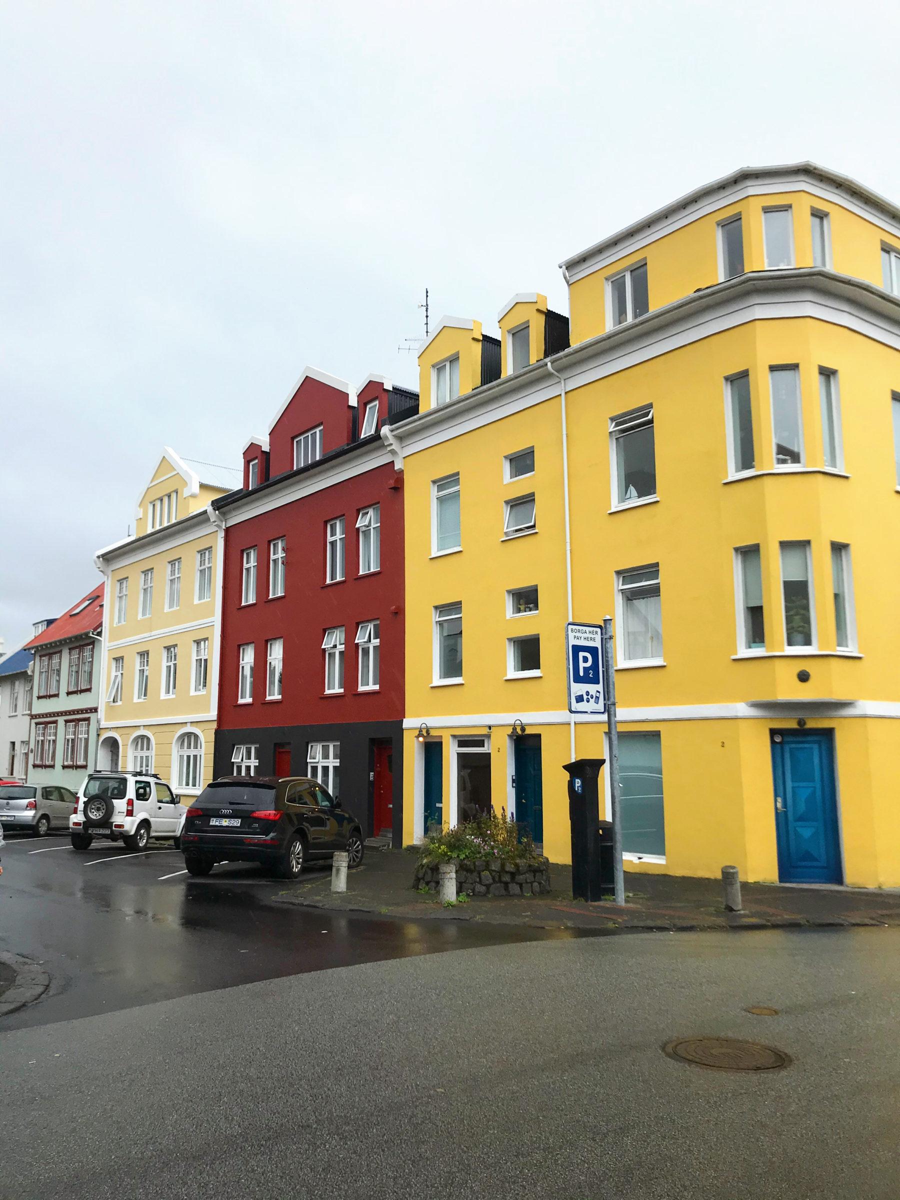Hus i Reykjavík