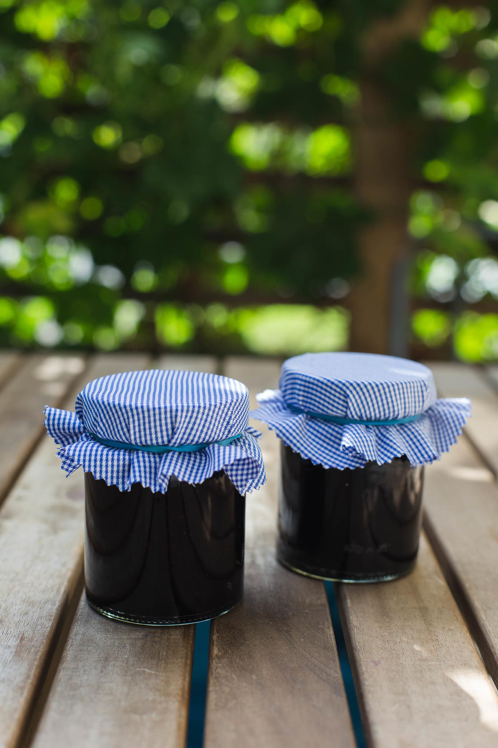 Recept - blåbärssylt med vanilj