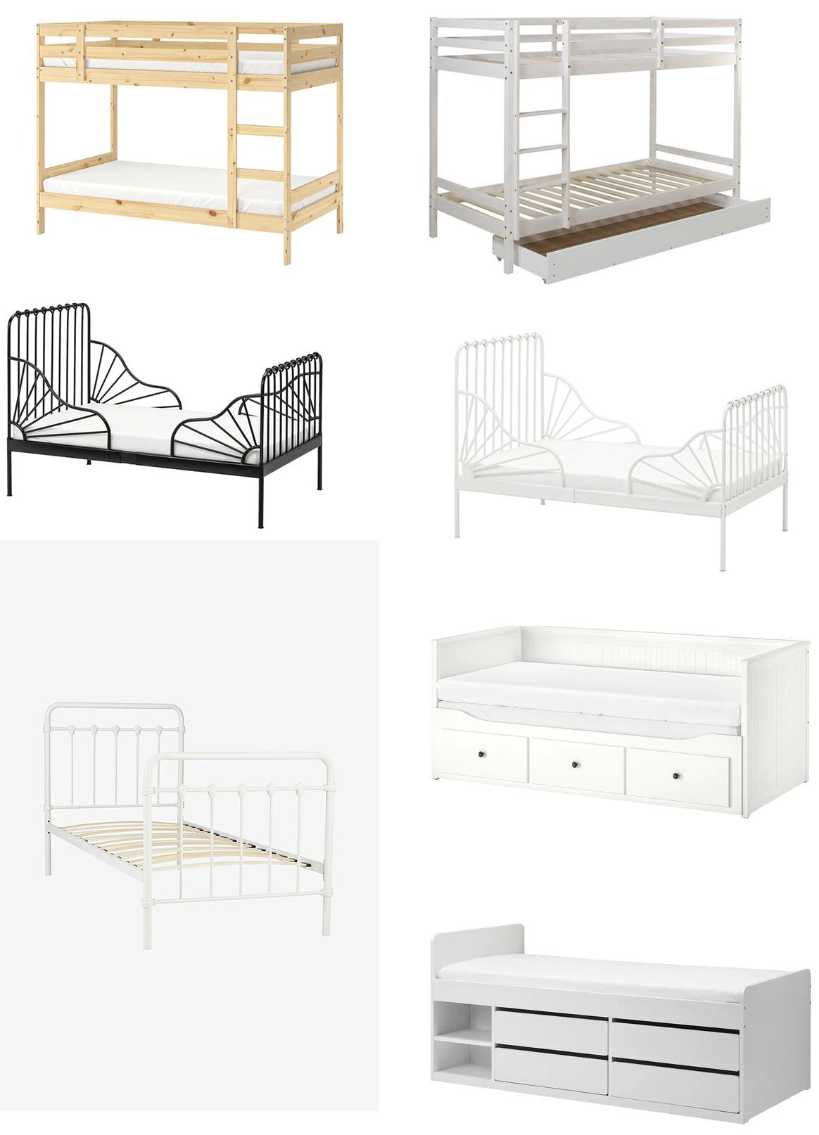 Tips på olika sängar till barnrum