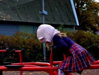 åka på utflykt med barn - cykelkarusell