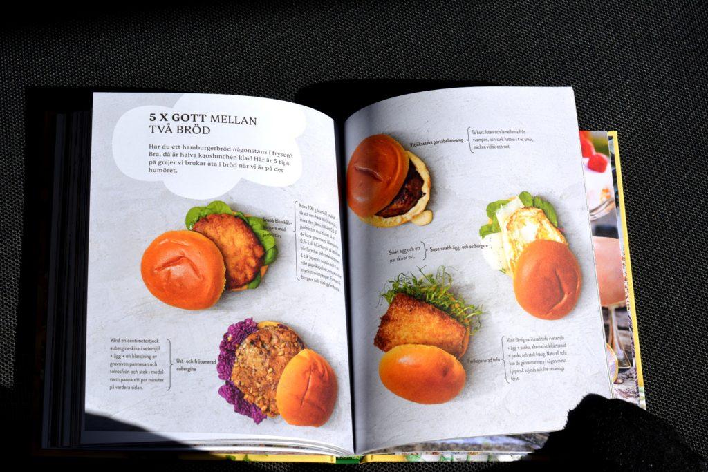 Tipsuppslag 5 x Gott mellan två bröd ur vegetariska kokboken Kaosvego av Sara Ask och Lisa Bjärbo.
