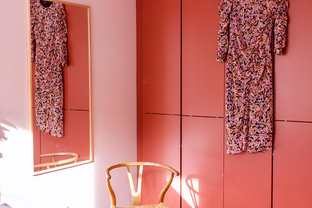 Färgkoder från Jotun Lady , Deco Pink och Warm Blush