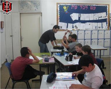 ליגת השכונות - מרכז למידה