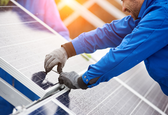 Initiative Solar Farm Low cost electricity