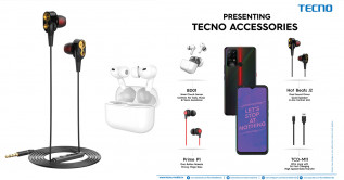 TECNO expands its accessories portfolio with a range of new products at disruptive price-points