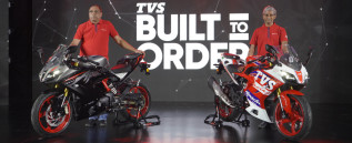 TVS Apache RR 310 Build To Order (BTO) motorcycle attains 100% bookings for the first month of its launch