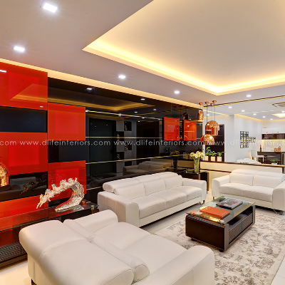 Luxury Apartment Interiors In Kochi