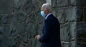 Joe Biden pied