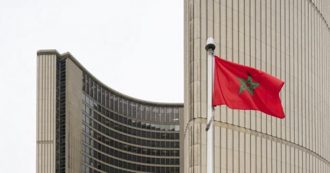 Le drapeau marocain hissé à Toronto