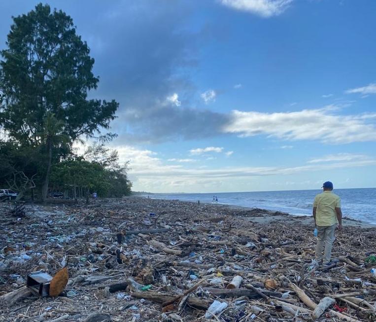 La Ceiba (Honduras) después de las tormentas Eta e Iota, diciembre 2020. Credit: Lila Ricart /Logistics Cluster