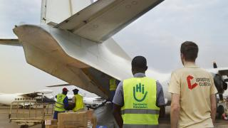 humanitarian logistics in Central African Republic
