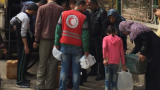 The Logistics Cluster Supports Emergency Fuel Provision in Syria