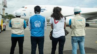 Facilitation of airlift in Venezuela, July 2020