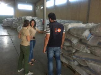 Humanitarian Cargo Transportation in Syria