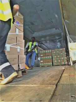 humanitarian logistics in Yemen, humanitarian cargo transportation in Yemen, emergency logistics in Yemen,